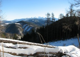Mount Choč - New Year's Eve 2016
