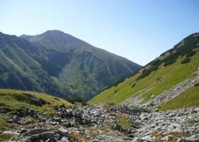 Trekking  i  Västra Tatrabergen